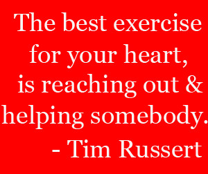 Thirsty Thursday Quotes Tim russert quote