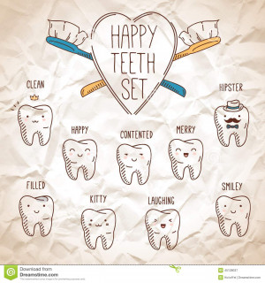 Dental Cartoon Characters Stock Photos – 130 Dental Cartoon ...