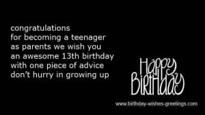 Go Back > Gallery For > Happy Birthday Wishes For Teenage Boys