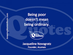 20 Jacqueline Novogratz #SheQuotes #quotes on #money #humanity # ...