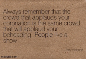 Terry Pratchett Quote in Quotes