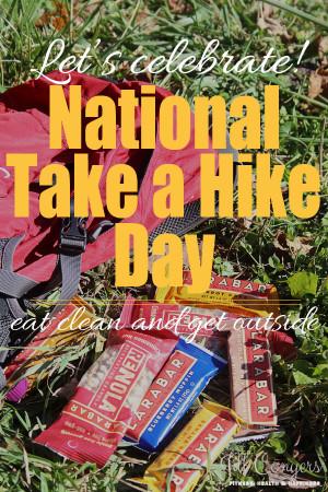 Celebrate National Take A Hike Day and Eating Clean jillconyers.com # ...