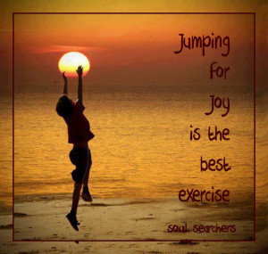 Life Quotes Jumping For Joy