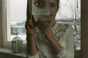 book, girl, interrupted