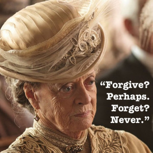 dowager countess downton abbey season 3