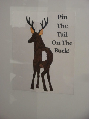 Deer/Hunting/Hunter / Birthday / Party Photo: This is a picture of pin ...