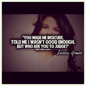 Lyrics Quotes, Quotessong Lyrics, Selena Gomez Lyrics, Selena Gomez ...