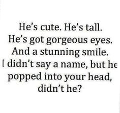 ... my mind but when I read quotes about guys you stand out in my mind