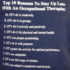 Happy OT Month! How Kids Explain Occupational Therapy...