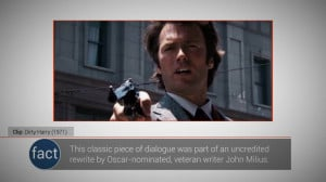 VIDEO Top 10 Top 10 Movie Quotes: Dirty Harry 6