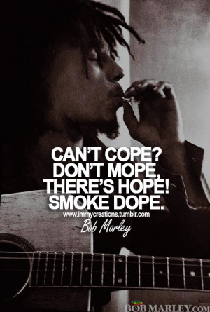 Bob Marley Weed Quotes And Sayings
