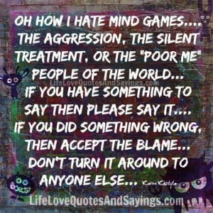 Mind Games Quotes and Sayings