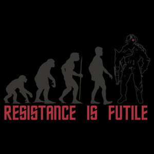 we are the borg resistance is futile