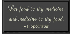 Hippocrates Quotes Nutrition