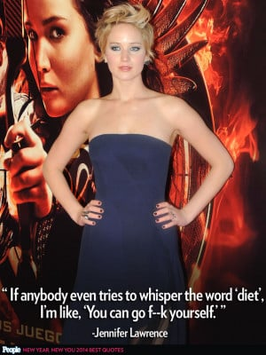 Back > Quotes For > Jennifer Lawrence Quotes On Weight