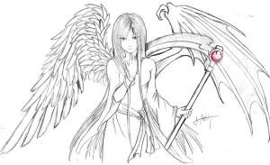 Half+angel+half+demon+wings+tattoos
