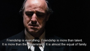 movie, the godfather, quotes, sayings, friendship, family ...