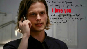 Dr. Spencer Reid Amplification Quote