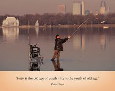 Sayings | via Victor Hugo fishing old age great quotes | Fishing ...