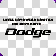 Dodge Sayings Decals