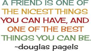 positive, cute, quotes, sayings, friends, douglas pagels