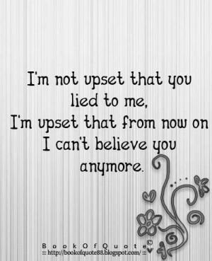 Lost Trust
