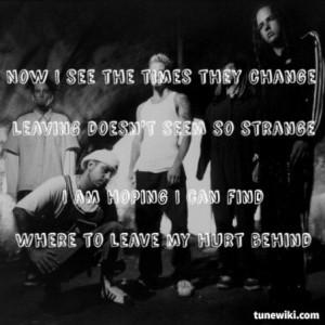 Korn- Alone I Break #Korn #song #lyrics