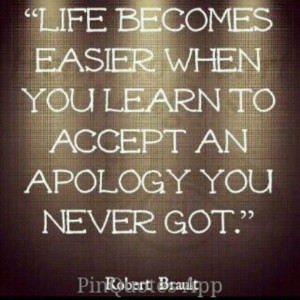 Its too late to apologize