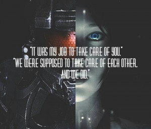 Cortana/Halo 4 quote with