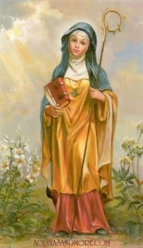 St. Monica, patron of mothers, alcoholism and difficult marriages ...