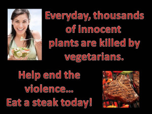 funny anti vegetarian quotes
