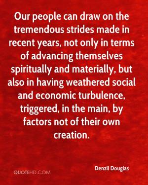 Denzil Douglas Quotes