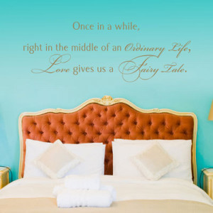 cute, quote, romantic, room, wall