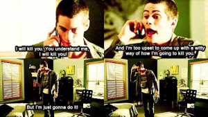 cute, funny, quotes, stiles stilinski, teen wolf
