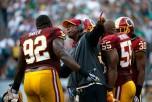 Nick Foles Hit Video: Eagles-Redskins Fight Erupts After Chris Baker ...