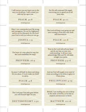 Traveling Truths: Bible Verses for Safety and Direction