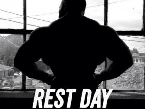 Rest Day Meaning   Stay home and think about working out