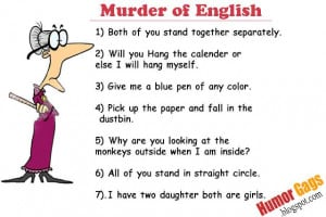 The English teacher has fainted after seeing this!!