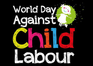 Every year on 12 June we celebrate the World Day Against Child Labour.