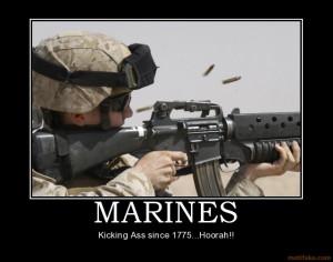 Marine Corps Motivational Poster