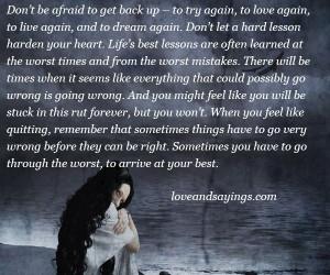 Try Again, To Love Again