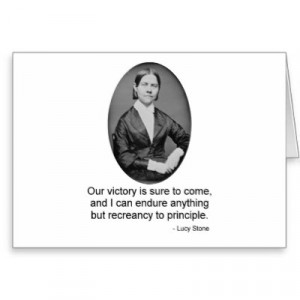 lucy stone quotes education