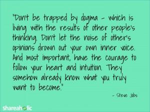 Best Google Web Font Steve Jobs Quote