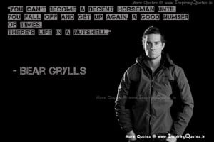 Bear Grylls Inspirational Quotes, Motivational Thoughts and Sayings