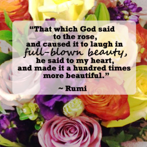 Rumi Quotes About Beauty