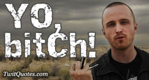 Breaking Bad - Yo, bitch!