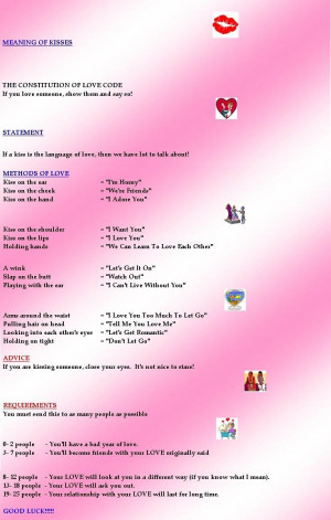 ... kisses tumblr types of kisses and their meanings what kisses mean