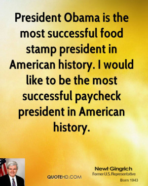 President Obama is the most successful food stamp president in ...