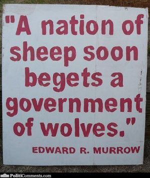 quotes quote government politics wolf sheep nation people real true ...