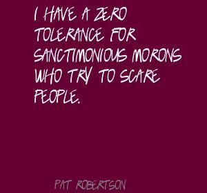 Zero Tolerance quote #2
